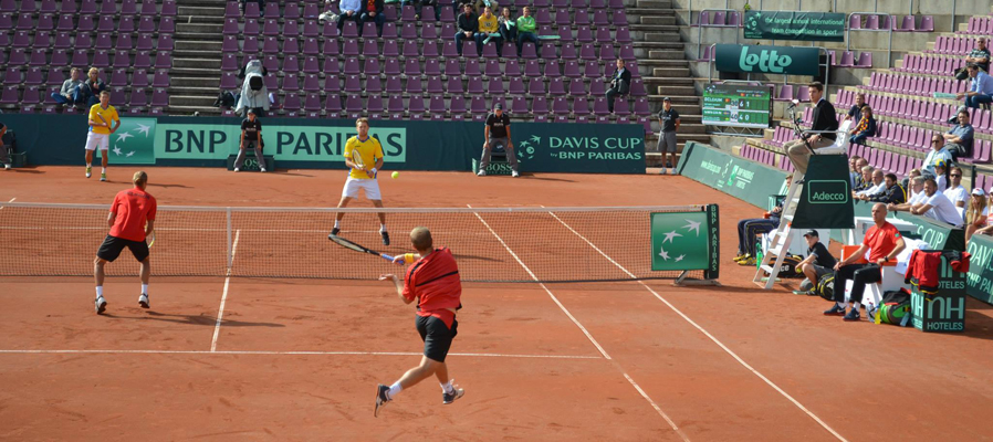 The Davis Cup/La Coupe Davis in Brussels